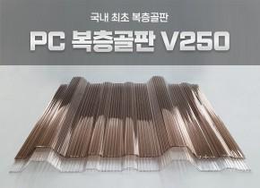 PC복층골판 3T V250